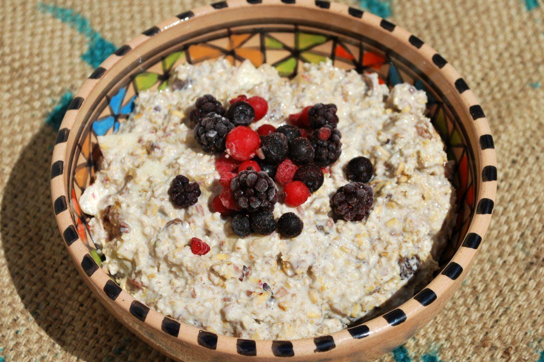 Bircher Muesli (vegan and sugarfree)