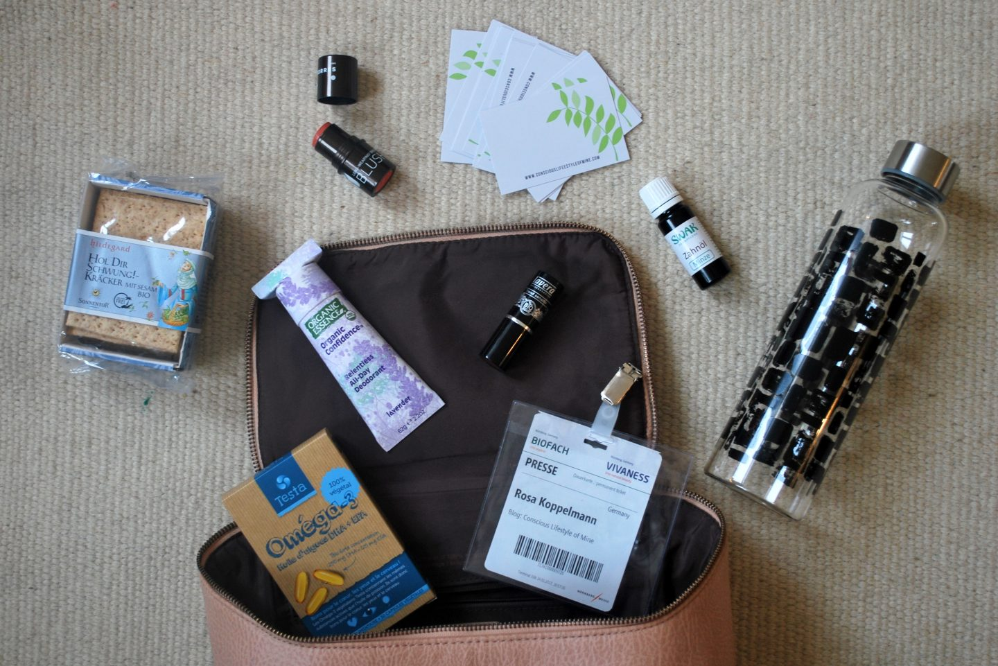 What's in my Bag when (Business) Travelling…