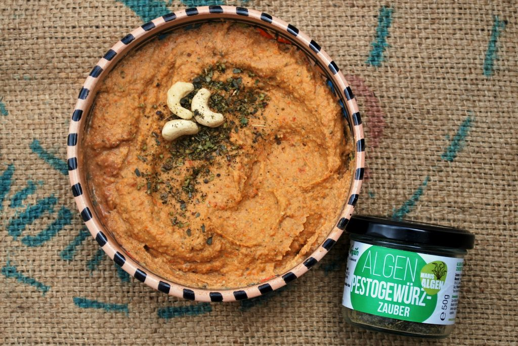 Red Lentil Pesto Spread Recipe