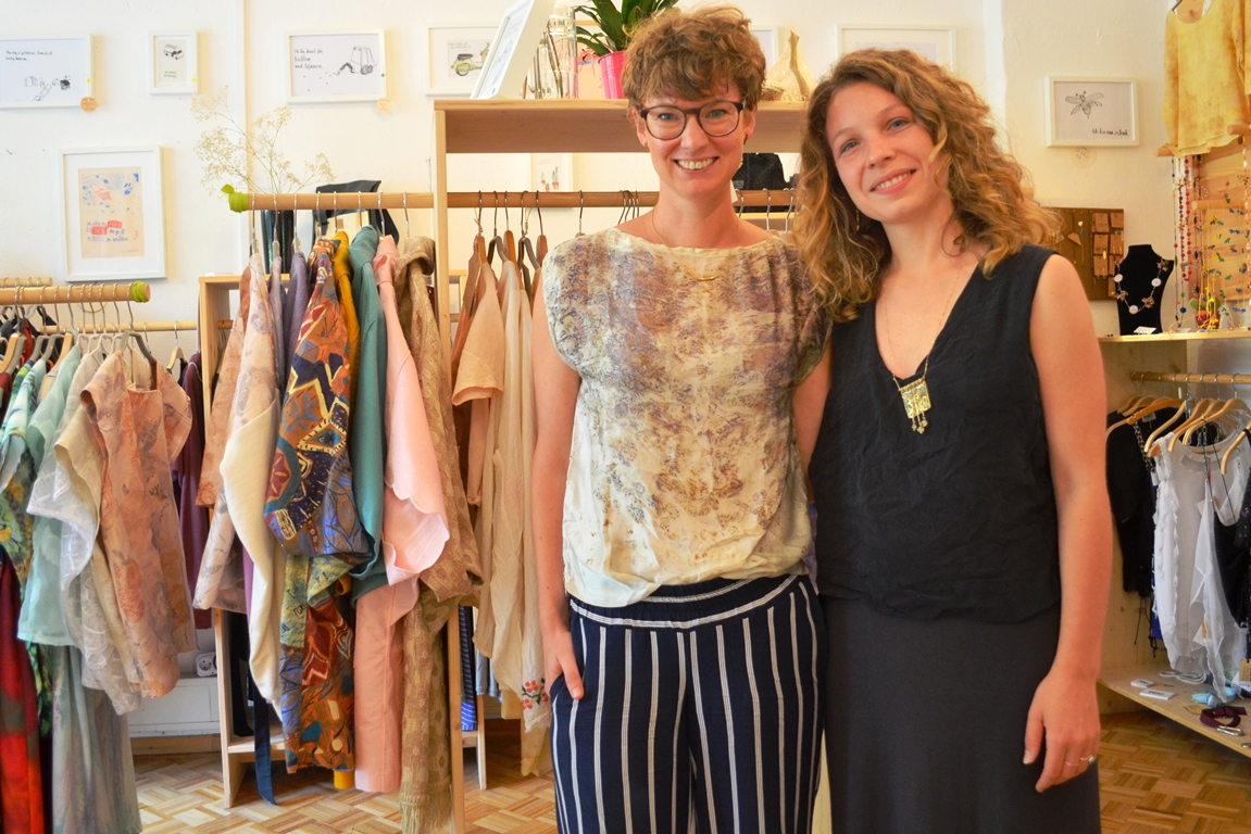 Visiting Studio Hertzberg (Fair Fashion and Upcycling Shop)