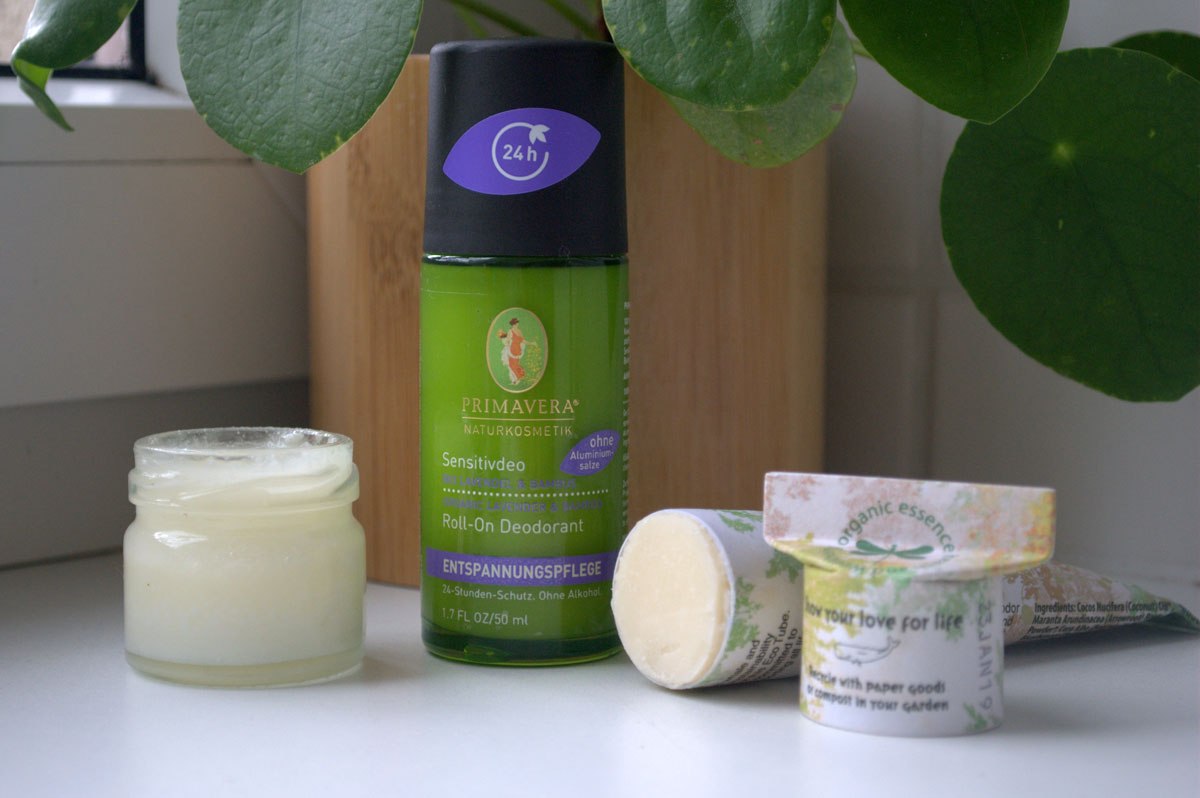Alternatives to conventional Deodorant (organic and Plastic free)