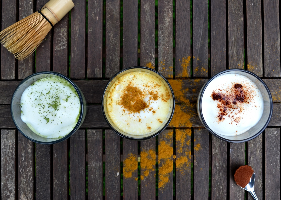 Three Creamy and Healthy Alternatives to Coffee/ Cafe Latte