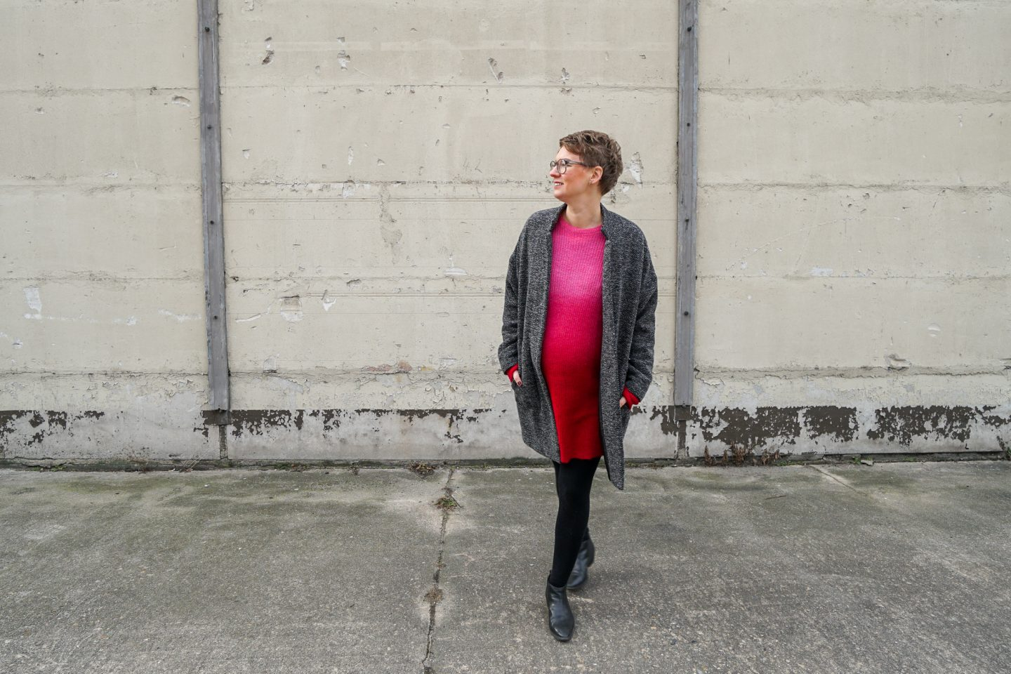 My Green Pregnancy #5: What to Wear – with HUG Berlin! *Knit Dresses*