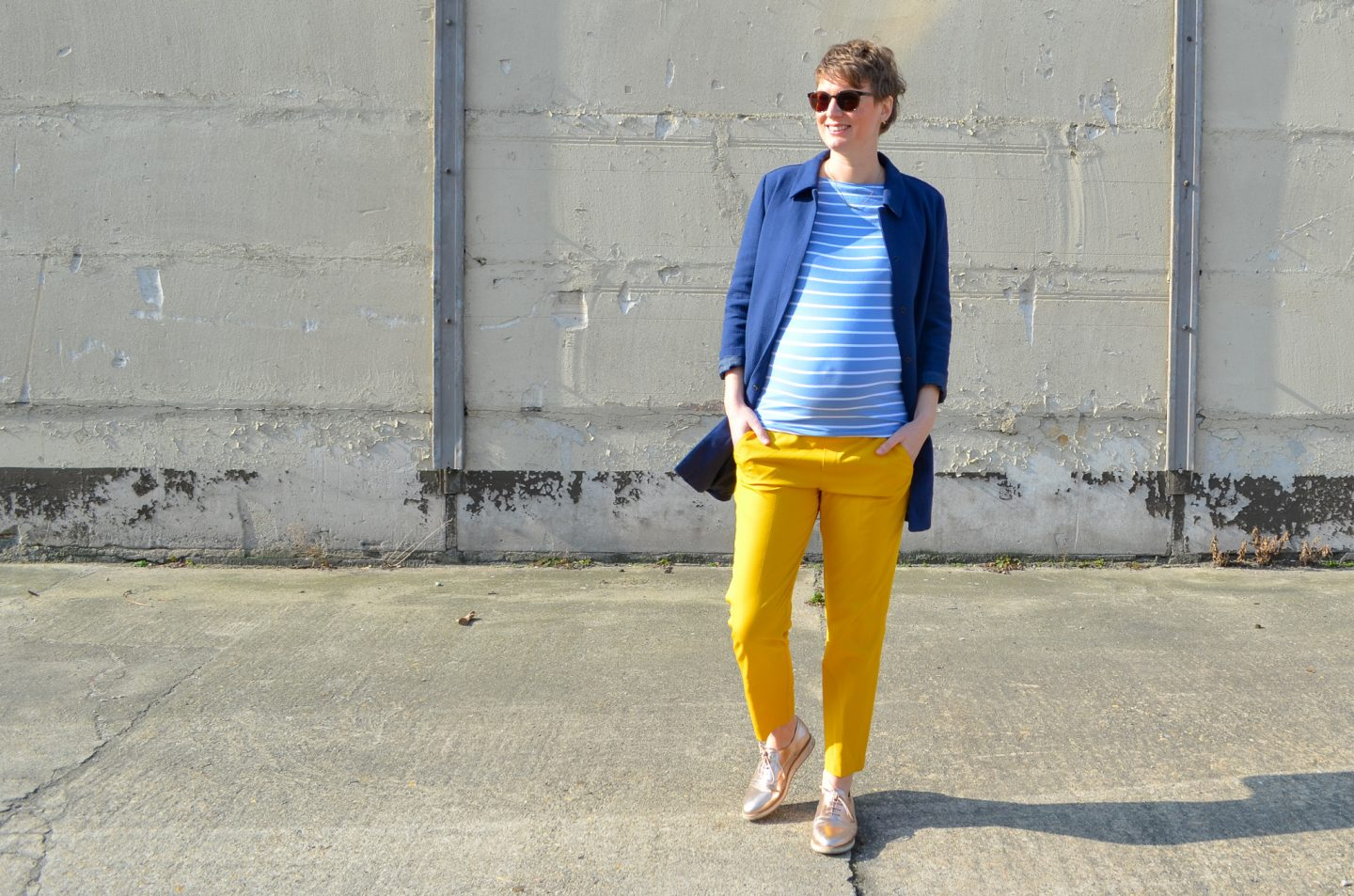 My Green Pregnancy #9: Second Hand Maternity Look without Maternity Clothes!
