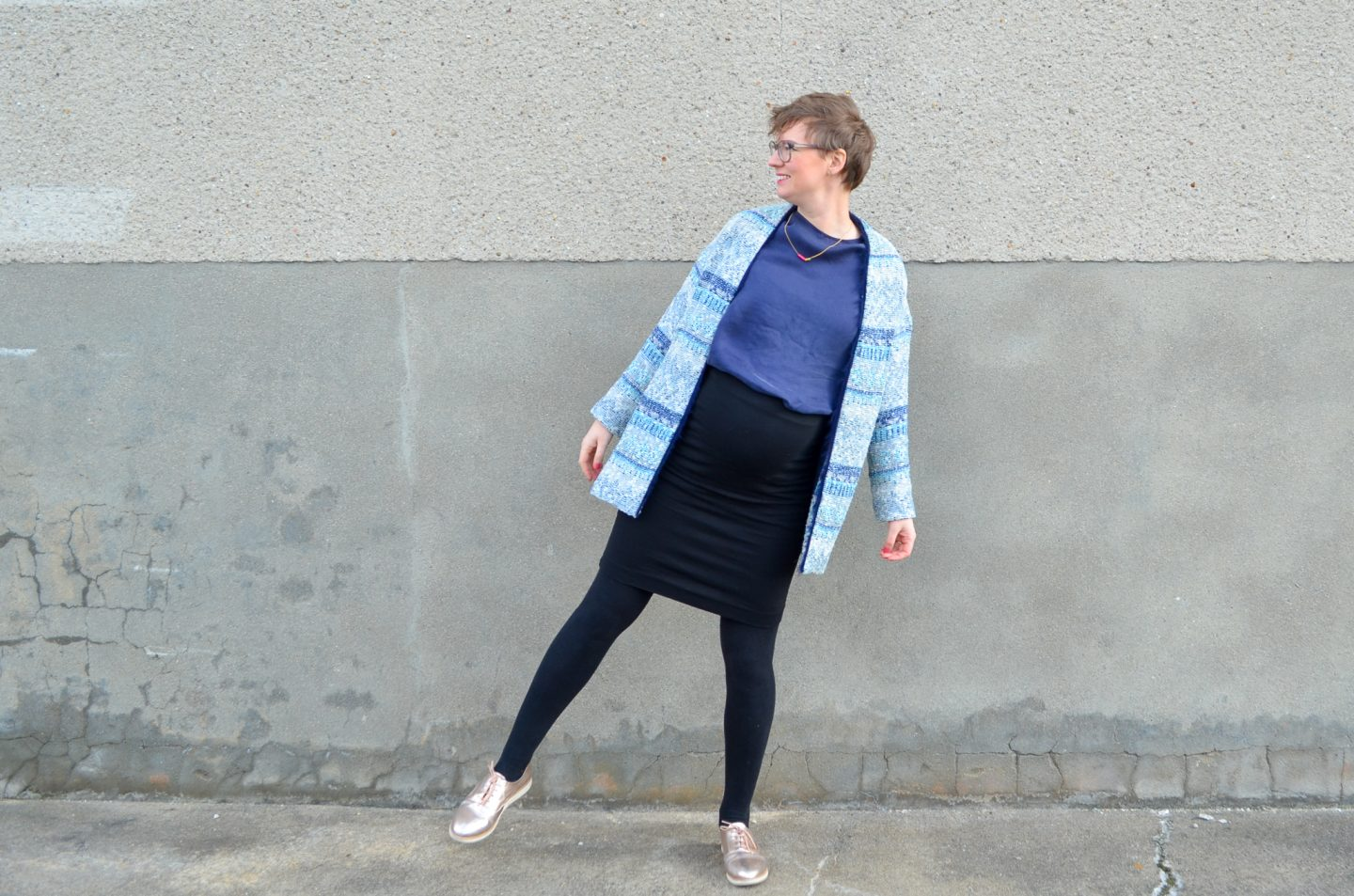 My Green Pregnancy #10: What to Wear with L'Amour est Bleu *Blouses*