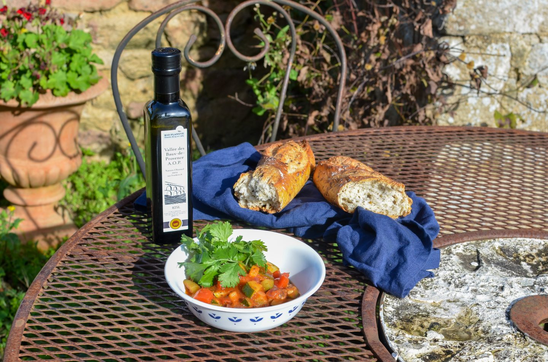 When in France … Ratatouille-Rezept und Olivenöl mit Herkunft von BIO PLANÈTE