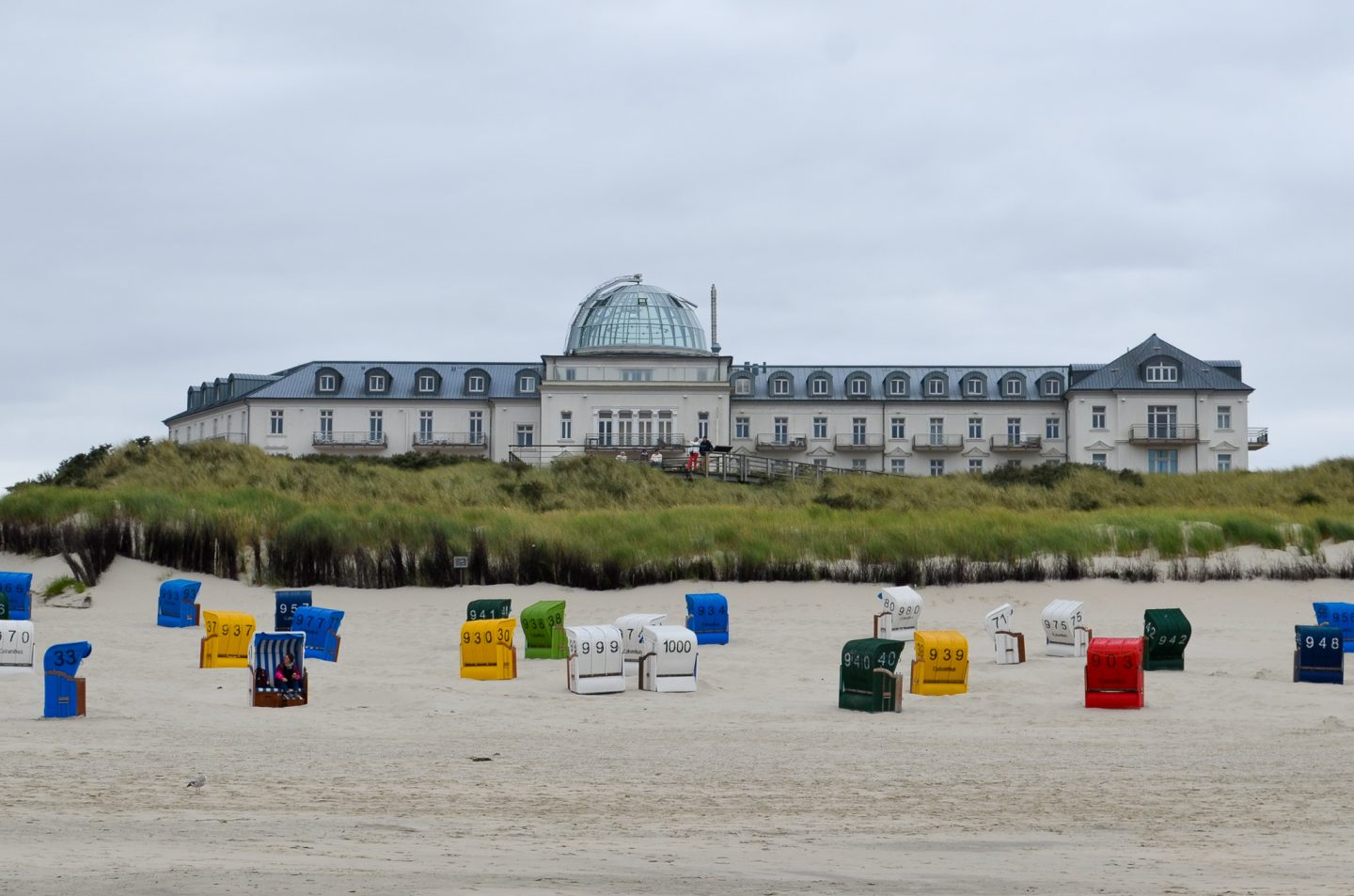 Eco Conscious Vacation at the North Sea: The Beach Hotel Kurhaus Juist