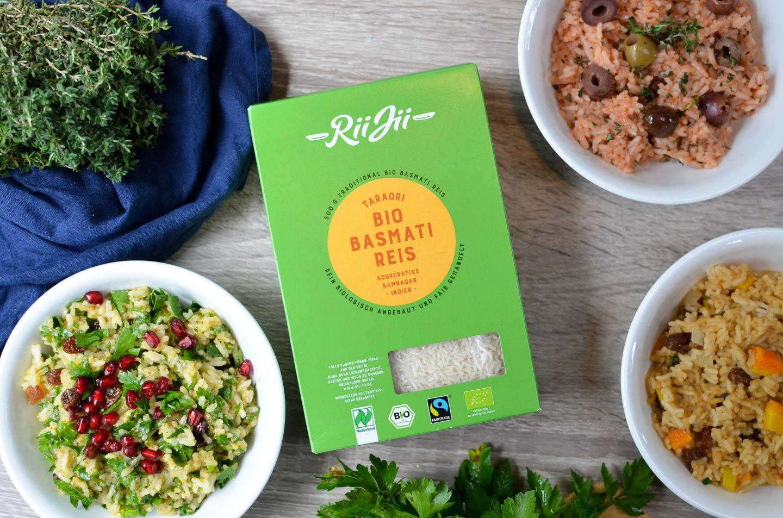 Drei schnelle Reis-Gerichte für die Camper-Küche – mit Rii Jii Bioreis