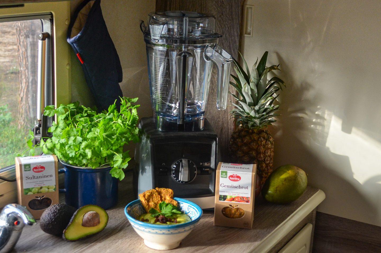 Schnell, Gesund und Einfach im Wohnmobil Kochen – mit dem Vitamix Ascent A2500i