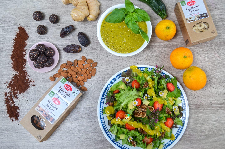 Drei einfache Rohkost-Rezepte im Vitamix