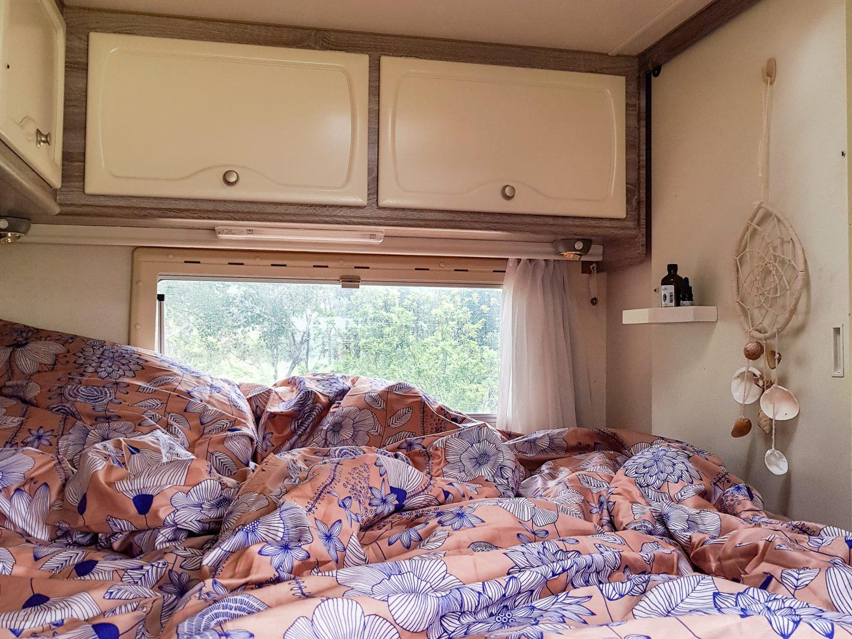 #vanlife – Mein Schlafzimmer im Wohnmobil