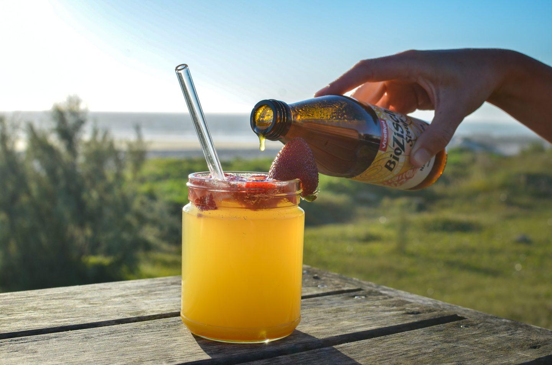 Meine liebsten Sommerdrinks auf Reisen – mit Voelkel BioZisch Sirup