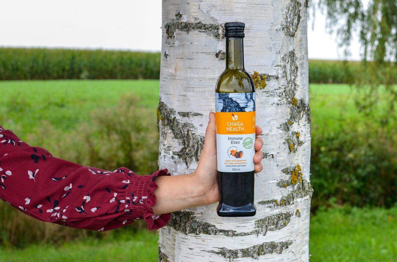 Chaga Health Elixir – Vitalpilz-Power aus der Flasche!