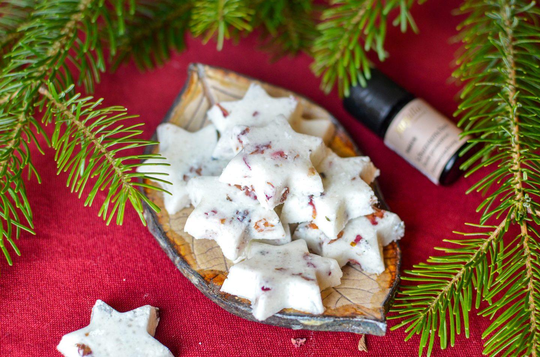Weihnachts-DIY: Duftende Badebomben