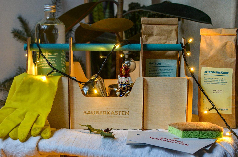 Zero Waste DIY Weihnachts-Reinigungsmittel mit dem Sauberkasten