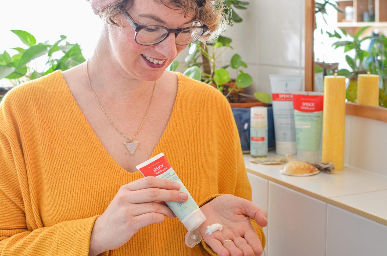 Erfrischt gepflegt in den Frühling – auch bei sensibler Haut (mit Speick)